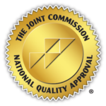 The Joint Commission Gold Seal of Approval.