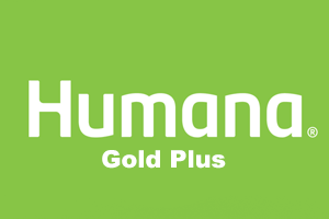Humana gold plus rating logo.